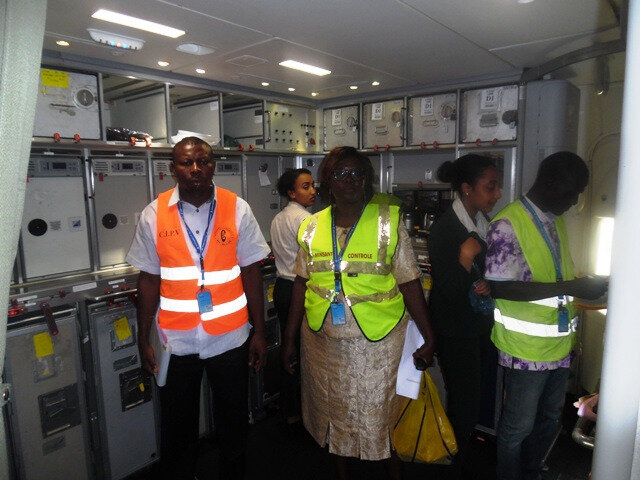 Aéroport International de Douala : Inspection phytosanitaire des aéronefs