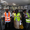 Aéroport international de douala : inspection phytosanitaire des aéronefs