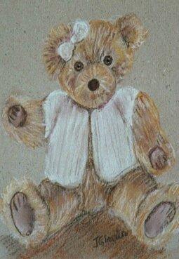 ours au ruban salon des agdm 2007