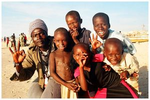 Bamba_with_children__Senegal_by_Yan_ikB