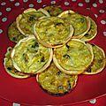 Tartelettes poulet champignon