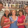 Andrey, Irina, Natalia, Janna, Olga, St Petersbourg, Russie, 4-8-09