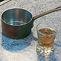 Coquilles saint jacques sauce au pinot et son risotto