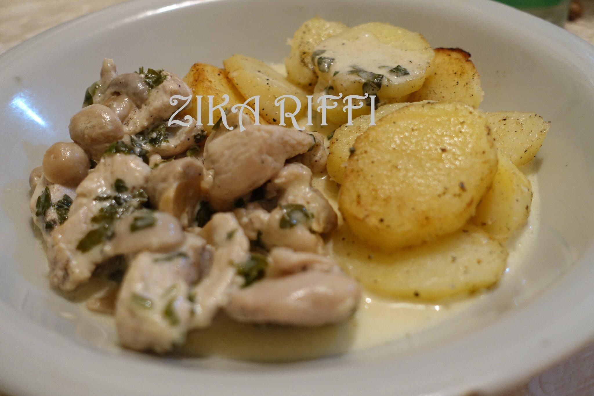 Fricassée De Dinde A La Crème Et Aux Champignons Cuisine Facile