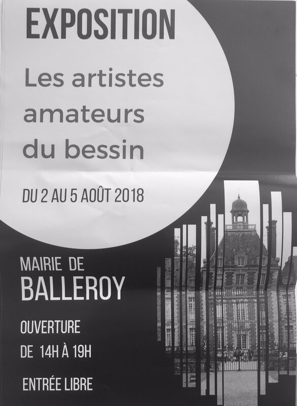 expo balleroy affiche 2018