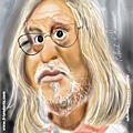 Une vraie gueule de savant à caricaturer: le professeur raoult