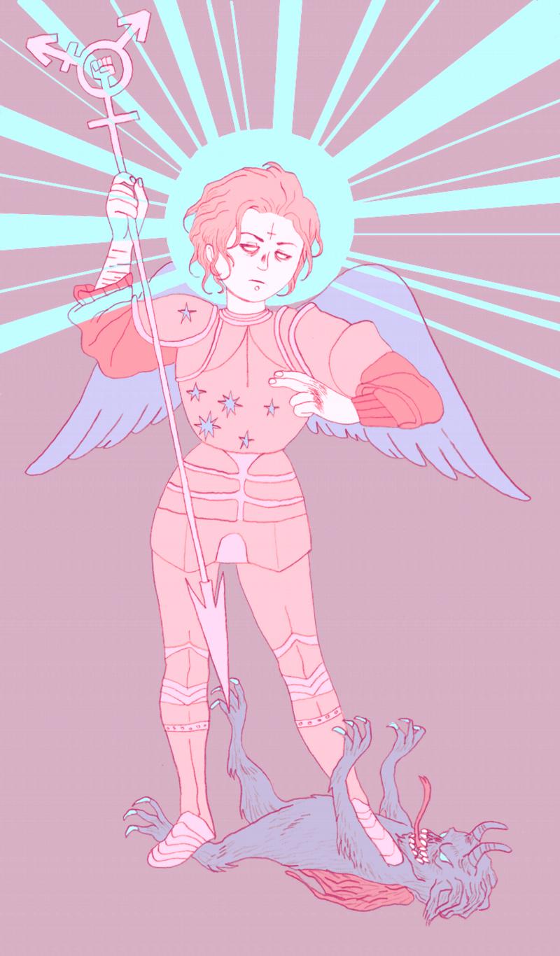 queer angel blog