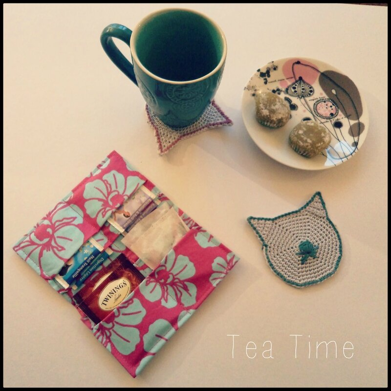 Kit Tea Time Cadeau 5 ans Cam&Drey bricolent