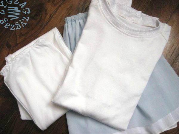 t shirt raglan, leggings et jupe résille 9