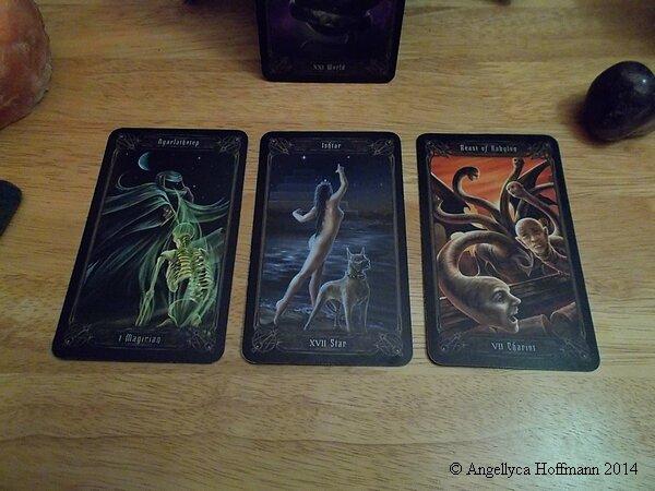 Necronimicon Tarot 5 - Blog ésotérique Samhain Sabbath
