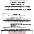 Journee de manifestation 16 novembre