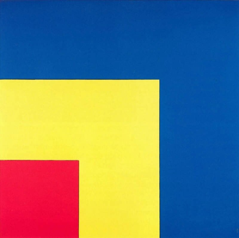 Ellsworth Kelly, Red, Yellow, Blue, 1963