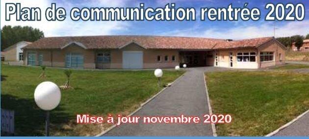 Plan de Communication Mis à Jour Novembre 2020