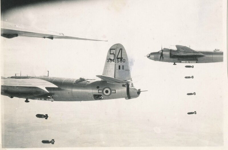 edmond garcia Bombardements sur l'Allemagne,Martin Marauder B26 (4)