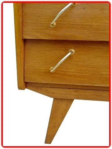 commode vintage 1960