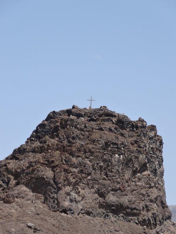 Le rocher Dedo de Dios (Puerto de las Nieves)