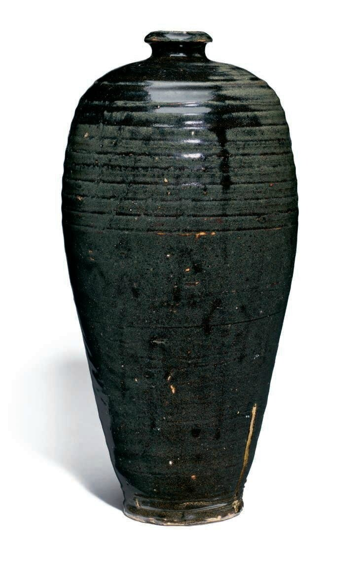 A black-glazed meiping, Song-Jin Dynasty, 11th-12th century