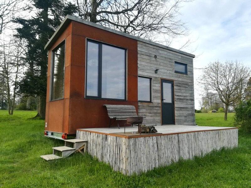 L'aventure Tiny House au Parc Saint Symphorien des Monts (Normandie) : Partie 1