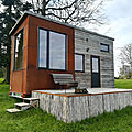 Une tiny house au parc saint symphorien des monts (normandie)