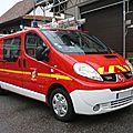 Renault trafic dci 115 véhicule de pompiers