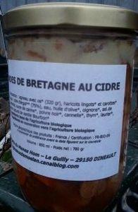 conserve cidre