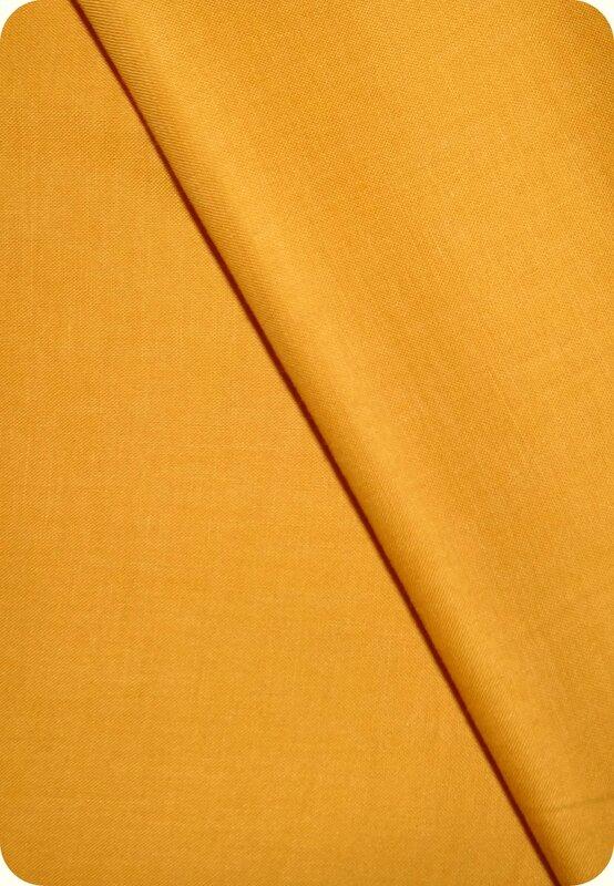 Tissu jaune moutarde