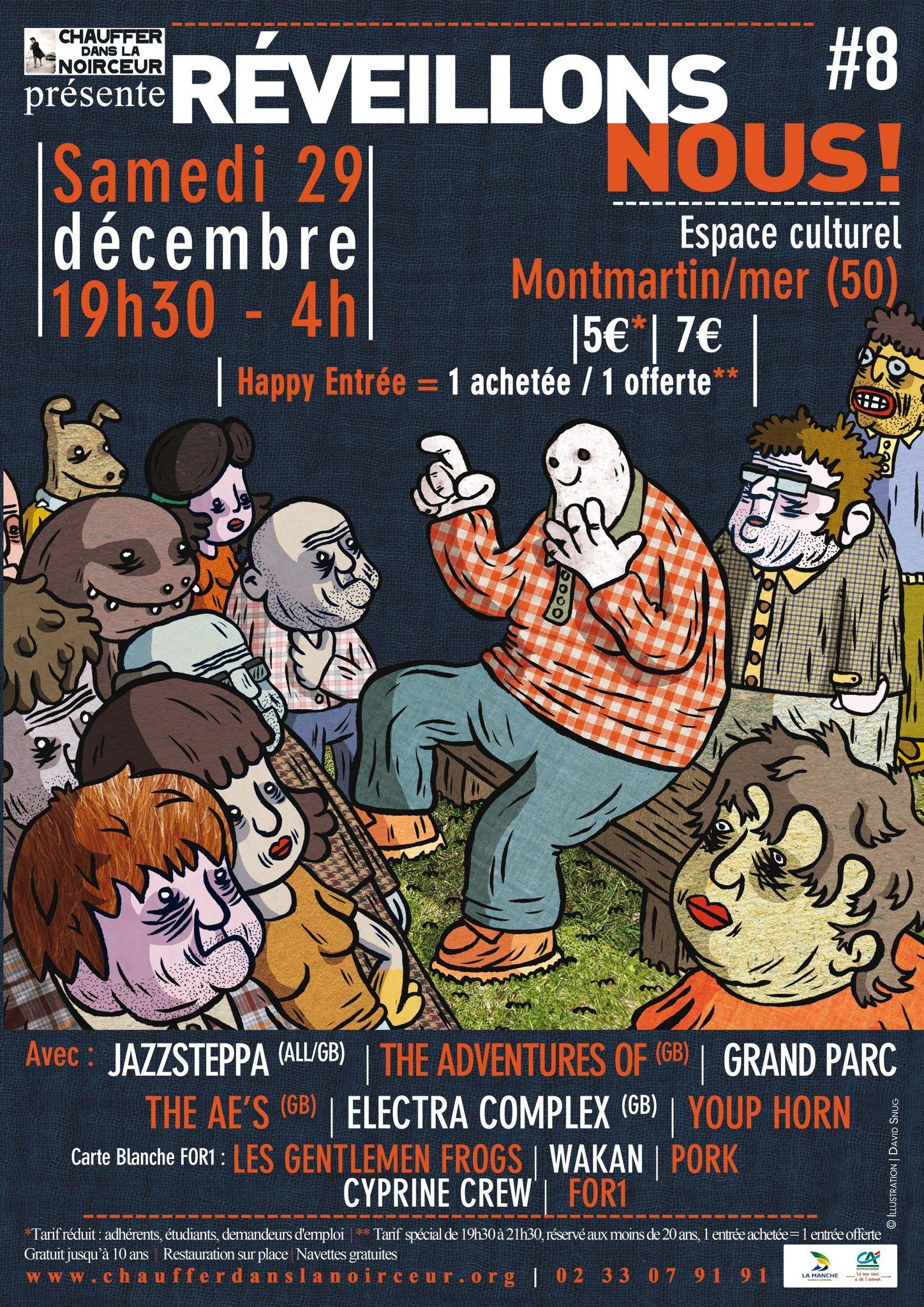 REVEILLONS-NOUS! #8 - le marathon musical à Montmartin sur mer - samedi 29 décembre 2012
