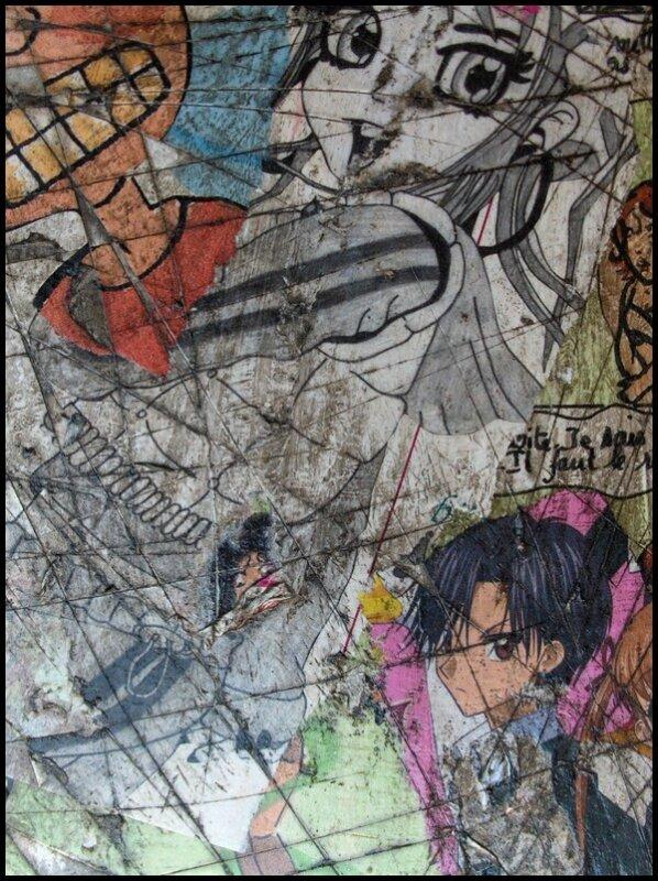 détail manga