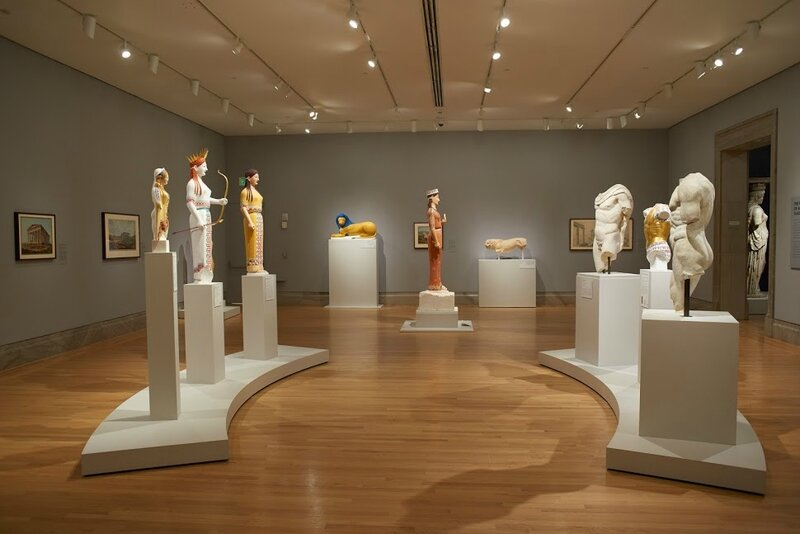 Exhibition presents ancient sculpture to audiences as never