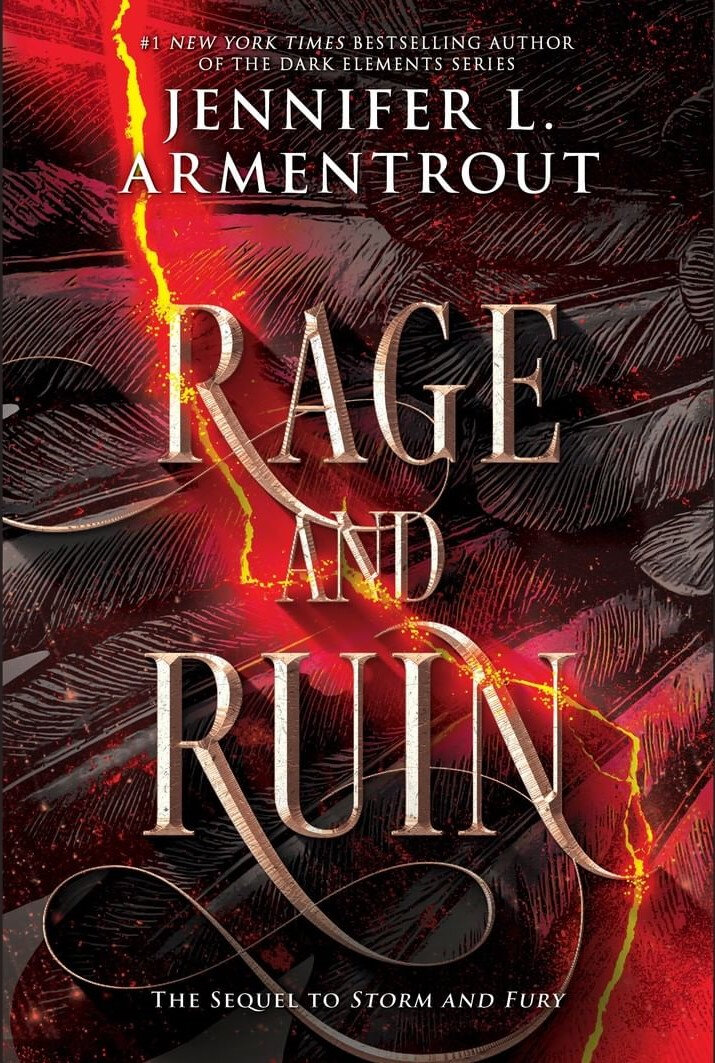 {Cover Reveal} - The Harbinger#2 : Rage and Ruin, Jennifer L. Armentrout
