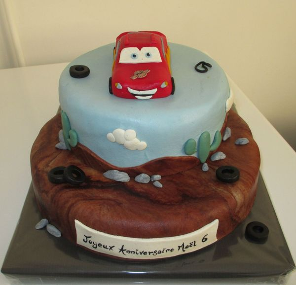 Gateau Cars #8