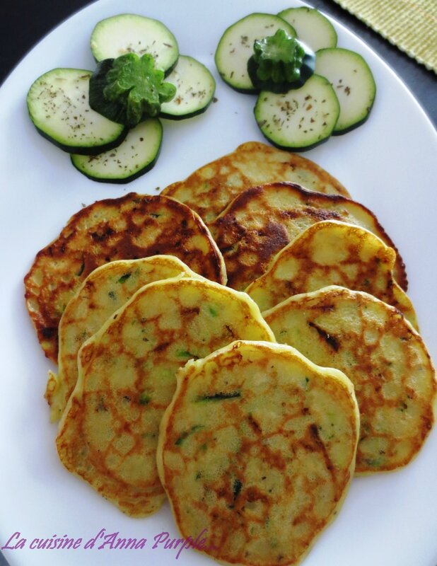 CREPES DE COURGETTES 1 - LA CUISINE DANNA PURPLE