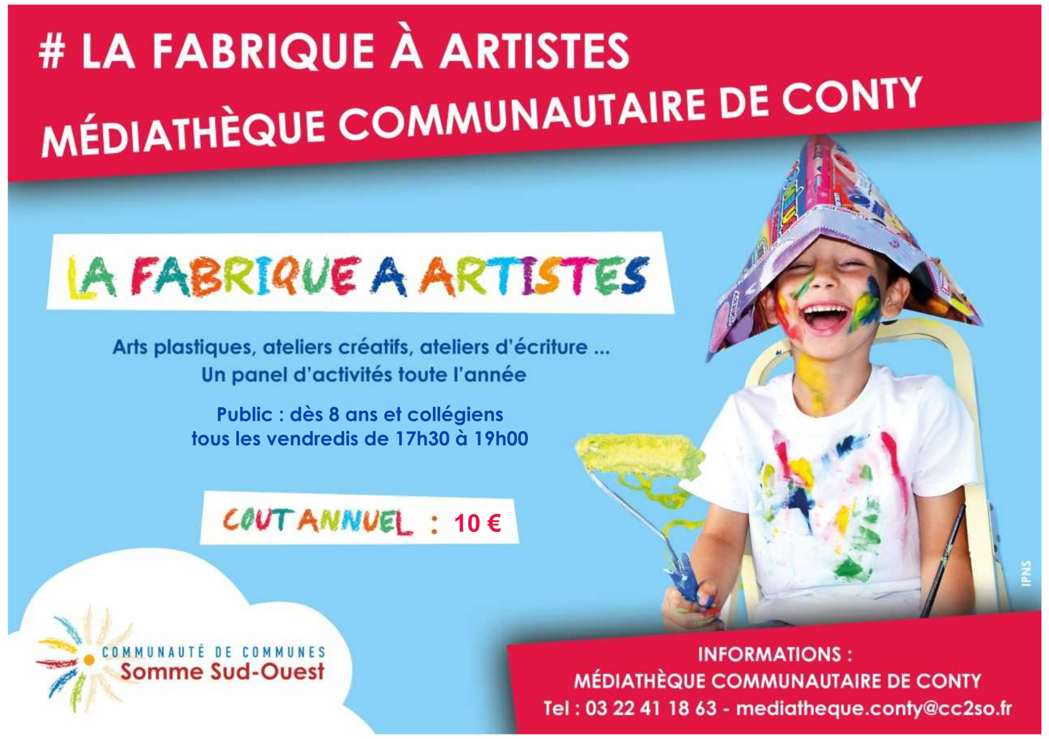 flyer fabrique a artiste