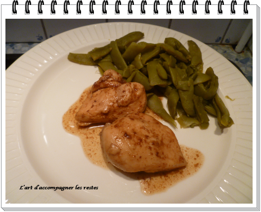 Poulet balsamique ww (cookeo)