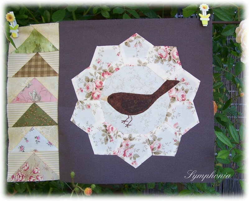 quilt mystery the enchanted garden bloc 2