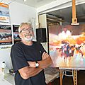 Villeneuve possede un artiste peintre de dimension internationale : alain maupuy...