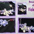 Collier Fleurs Tricotin
