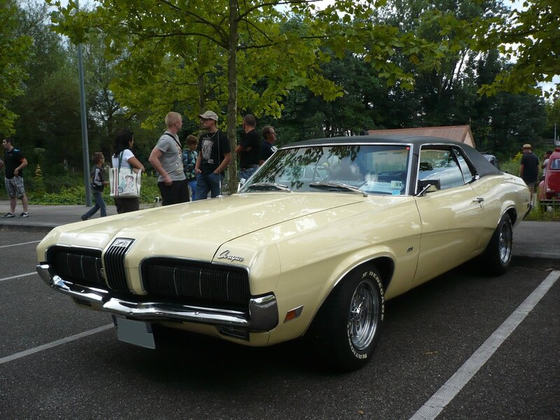 MERCURY Cougar 351 2door hardtop coupé 1970 Haguenau (1)