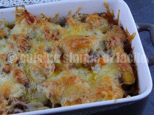 gratin gnocchi à la bolognaise 06