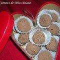 Chocolat et autres gourmandises sans gluten pour la st-valentin
