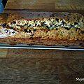 Cake à la banane et pépites de chocolat [ sans oeufs, sans beurre ]