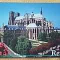 Reims - cathédrale Notre Dame