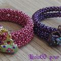 Swap donut salamandre contre bracelet chenille
