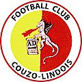Football club couzo-lindois : programme du week-end