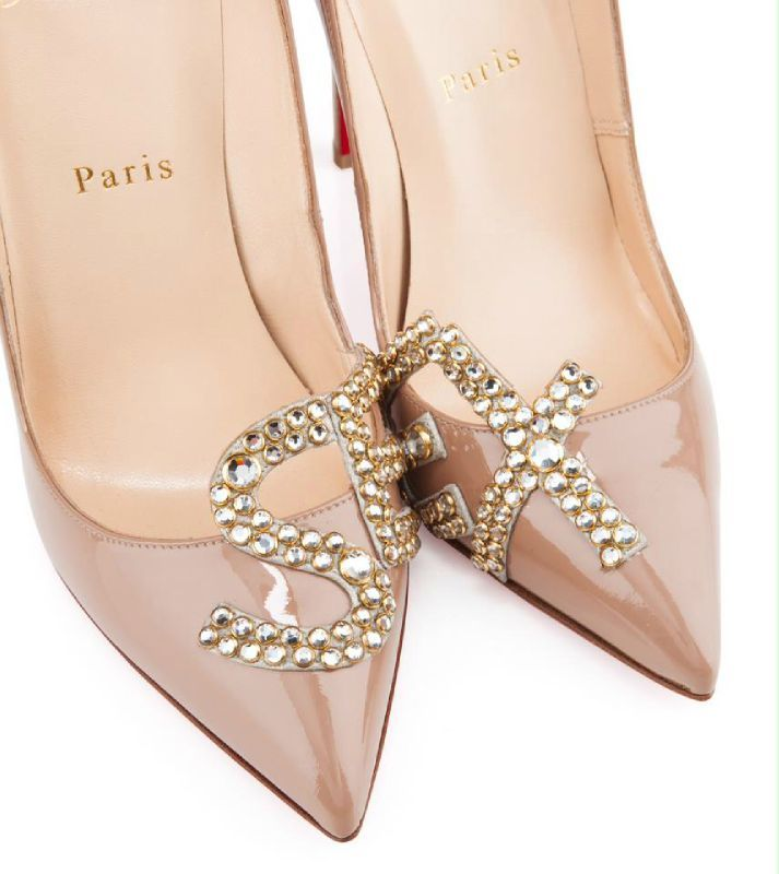 Louboutin Christian regard Fun Chaussures de Salomé L'œil sur Pdd8Hq