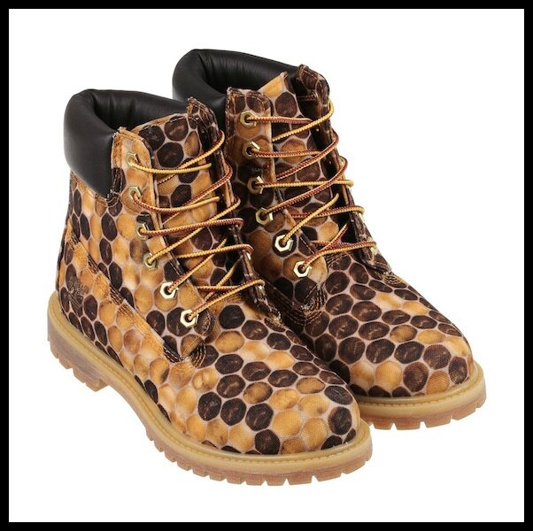 timberland pharrell williams bee line honey 1
