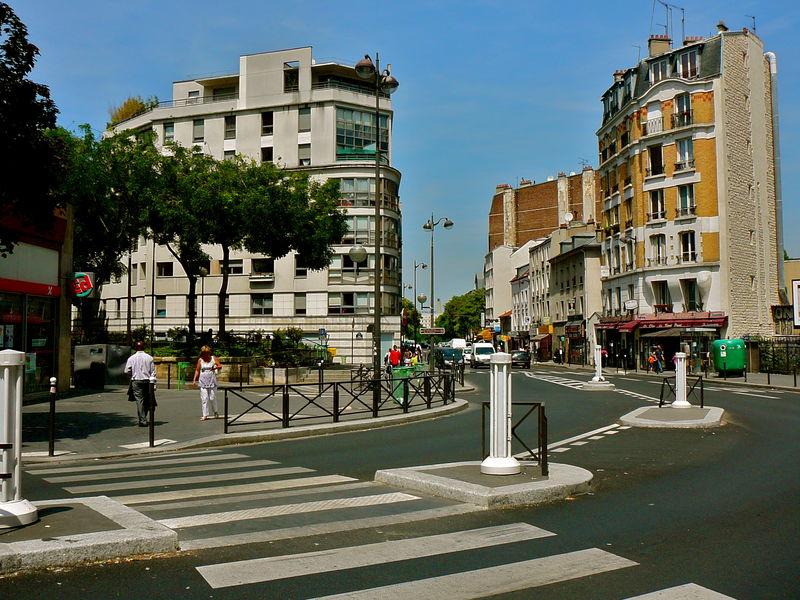 Rue Belliard rue du Poteau.
