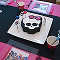 Anniversaire monster high #2