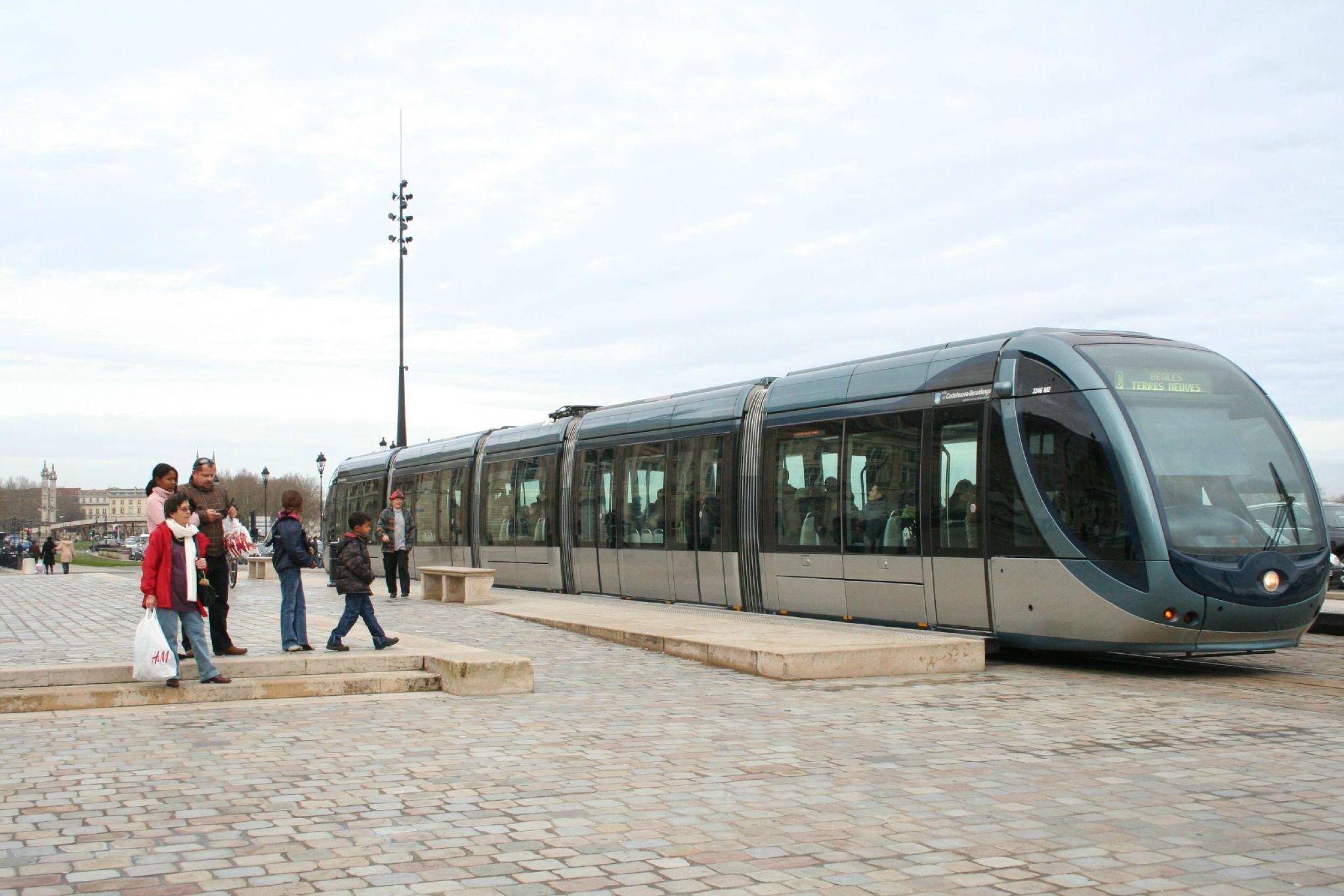 Tram /décembre 2009