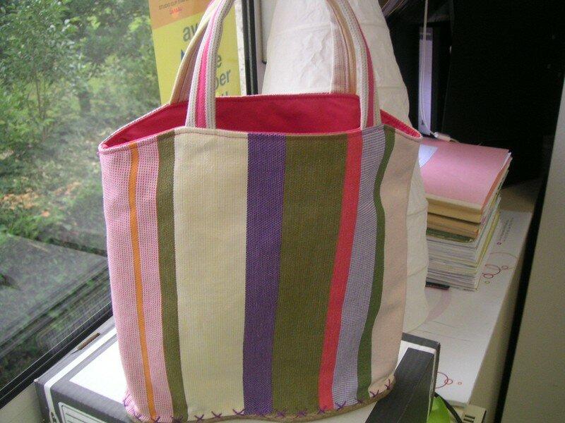 un autre sac espadrille